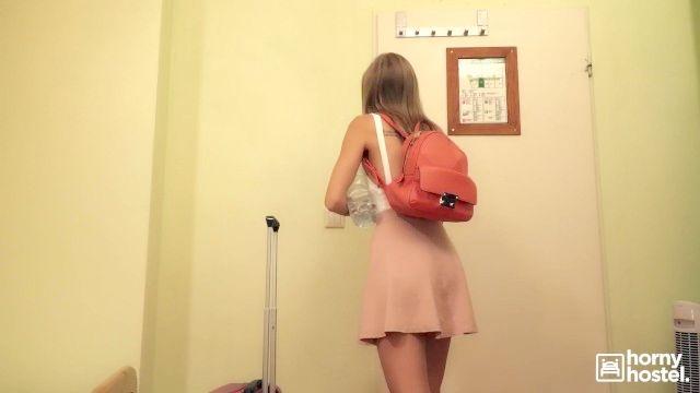 geile Backpacker tiffany tatum fickt Fremde in Herberge auf Spy-Cam aufgezeichnet
