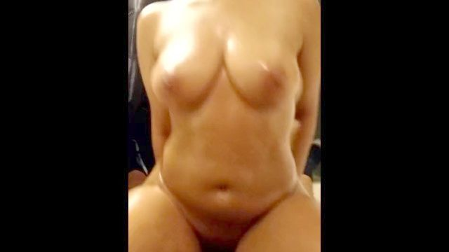 Latina Goddess Wanted To Oil Up And Have A Perfect Intercourse