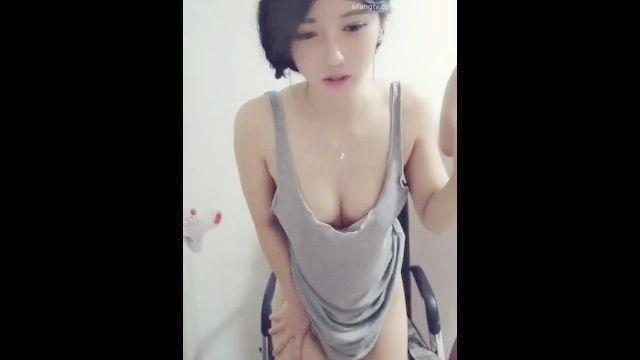 Chinesische Göttin 韩 老师 98 Live-Sex 2
