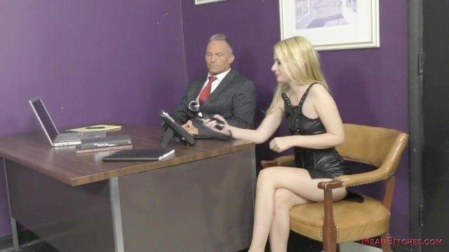 zickig Sekretärin macht den Chef in ihren kennedy Kressler Slave
