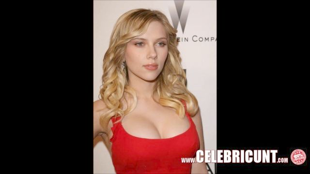 罕见的斯嘉丽·约翰逊裸体炫耀的大胸部和阴部高清