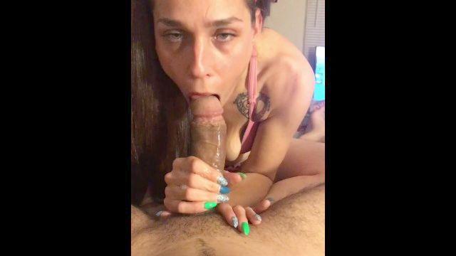 Throat Weißes Mädchen Bbc Deep Beim Deepthroat