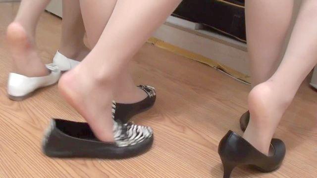 pé de nylon fechar-se (chinês)
