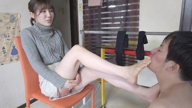 adoração do pé japonês