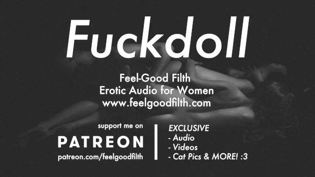 mi fuckdoll: lamiendo coño, sexo duro y cuidados posteriores (audio erótica para mujeres)