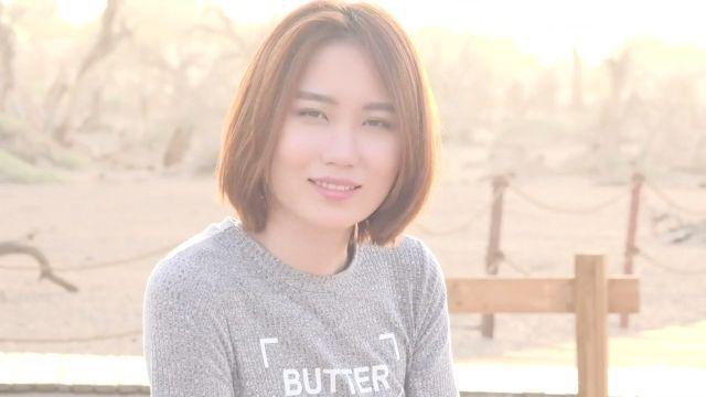 chinesische Modell Foto-Shooting 模 特 伊 麗 莎 白 之 西 行 遊 記