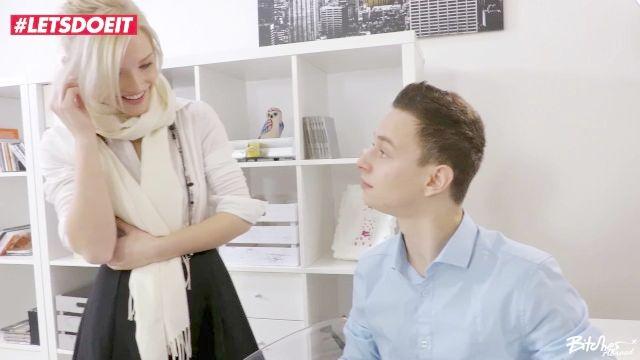 letsdoeit blonde Babe in Sex von jungen tschechischen Gestüt ausgetrickst