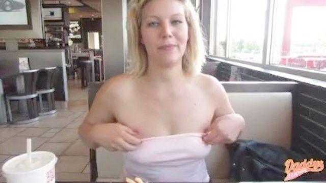 pissing in Restaurant