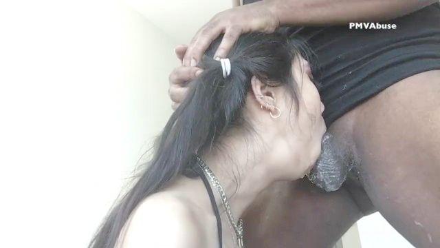 Азиатская Babygirl Deepthroats Bbc Ballsdeep