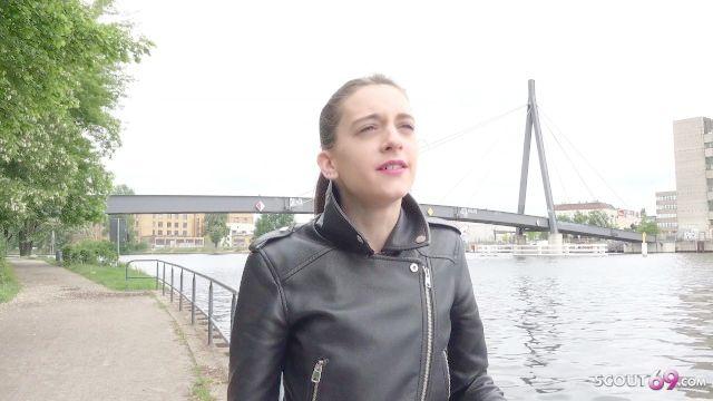 Deutsch Scout anal für petite 18yr junge Betrug Mädchen auf der Straße Gießen