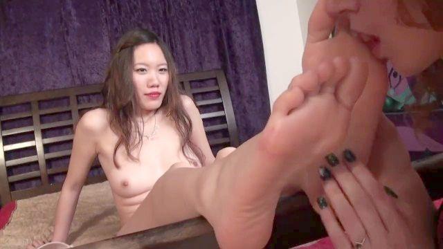 adoração do pé lésbica 4