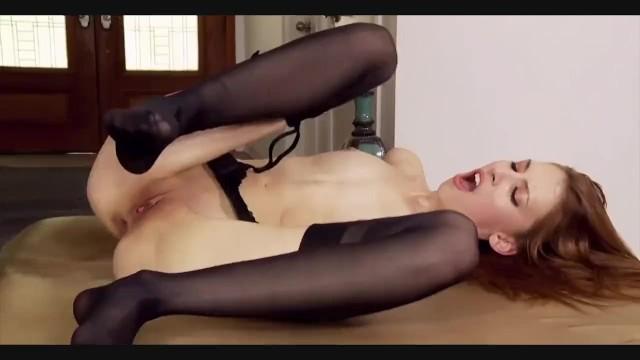 Jenna Justine - Extreme Deepthroat & Anal Stockings