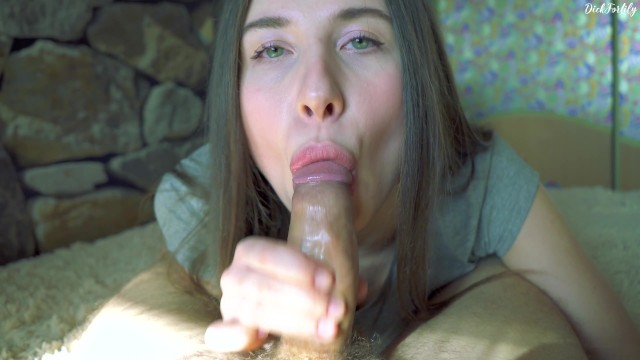My Russian Gf Knows How To Get My Cum In Her Young Mouth - Dickforlily