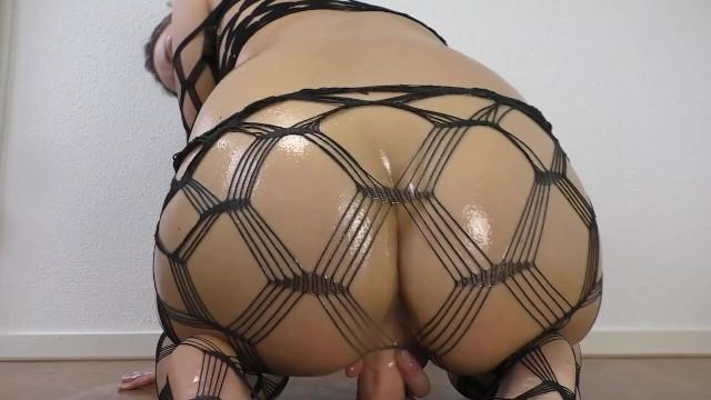 Big Oiled Ass Rides A Dildo - Starring Suraya Stars
