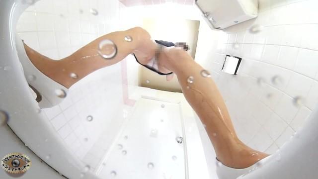 White Panties Public Toilet Scenes