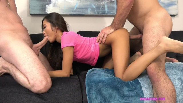Daddy And His Friend Fuck Me Good!