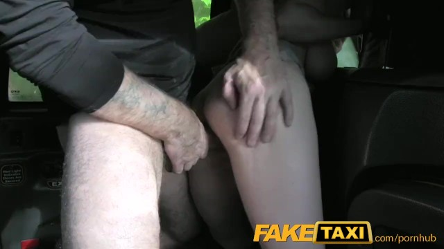Faketaxi Two Hot Women In Taxi Threesome
