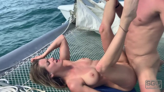 Fucking And Sucking On A Sailboat In St. Petersburg Florida