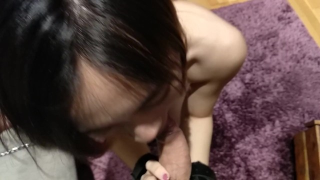 My Chinese Slave Gives Me Head Until I Cum In Her Mouth Pov