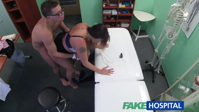 Fakehospital Babe Wants Doctor's Cum All Over Her Big Huge Tits