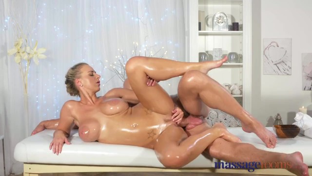 Massage Rooms Horny Young Big Boobs Blonde Takes Fat Dick