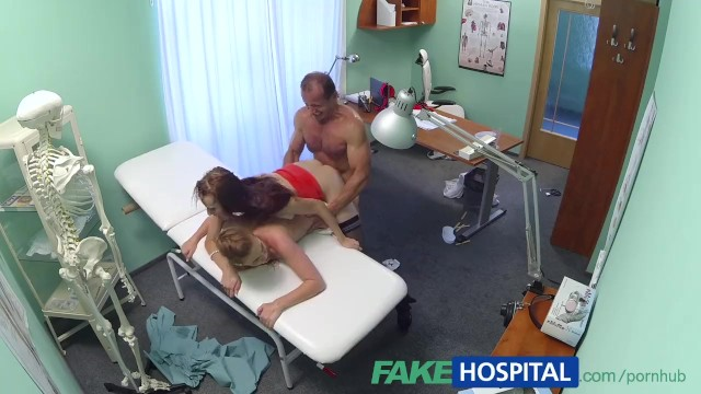 Fakehospital Hot Nurse Joins Doctor And Sexy Patient For Threesome