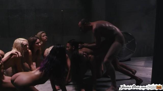 James Deen Punishment Of 9 Girls In Rough Groupsex Reverse Gangbang