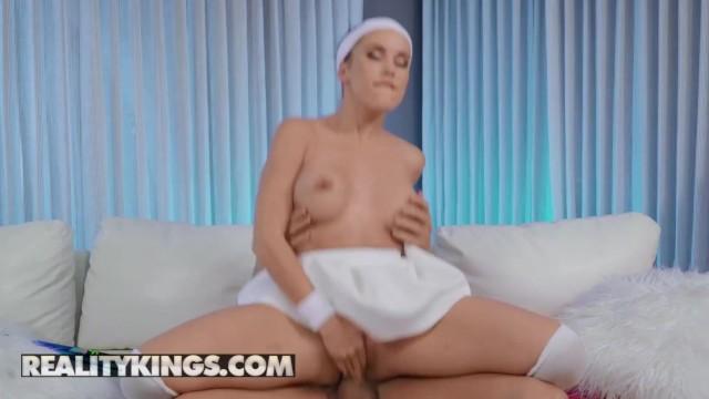 Reality Kings - Tenis Slut Megan Rain Gets Choke Fucked