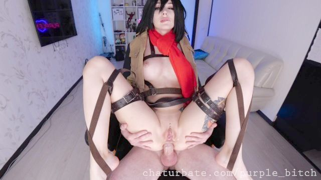 All About Mikasa's Feet And Butt Make Love Free Version Anime Cosplay Foot Obsession