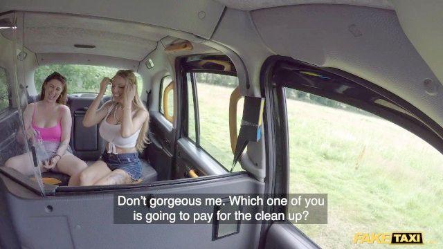 поддельные такси Стейси Seran и принцесса париж жаркое лето порево
