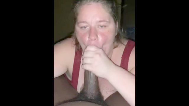 Chica Blanca Toppy Descuidado Tragar Toda Mi Tuerca