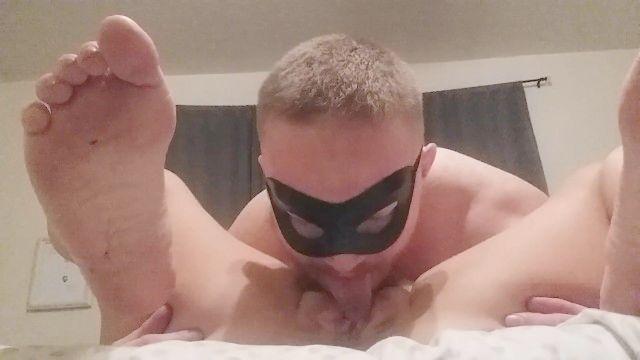Daddy Cums Loud And Eats Internal Sperm