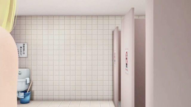 Restroom Torment (yuri Discipline Bondage Act Fuck Sex) - 3d Mmd