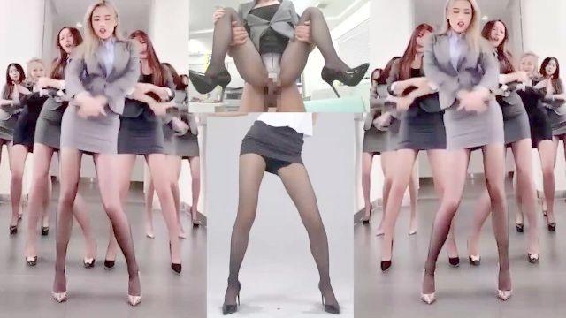 ★ азиатских лучшие колготки ноги и ол встряхивания (快手 неряхи) вырезать PMV