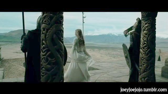 властелин колец: Эовин последний shieldmaiden