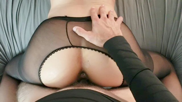 Handsome Nonpro Gets Banged Doggy And Creampied In Nylon Tights Point Of View