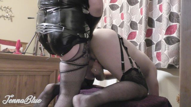 First Time Ass Have Sex Fist - Fucking And Deep Ass Pegging With Kinky Life Partner In Stockings