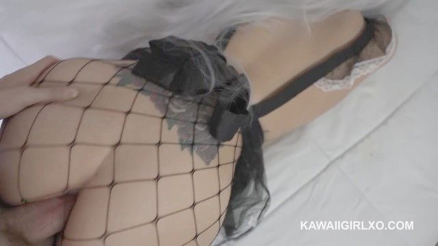 Neko Maid Moans While Getting Her Big Booty Dicked