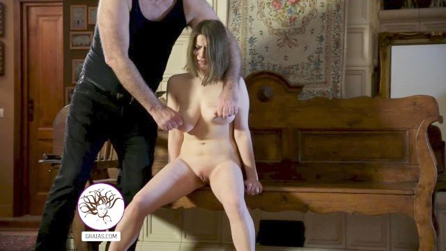 Huge Tits Slave Angel In Bondage Act Domination Act Play